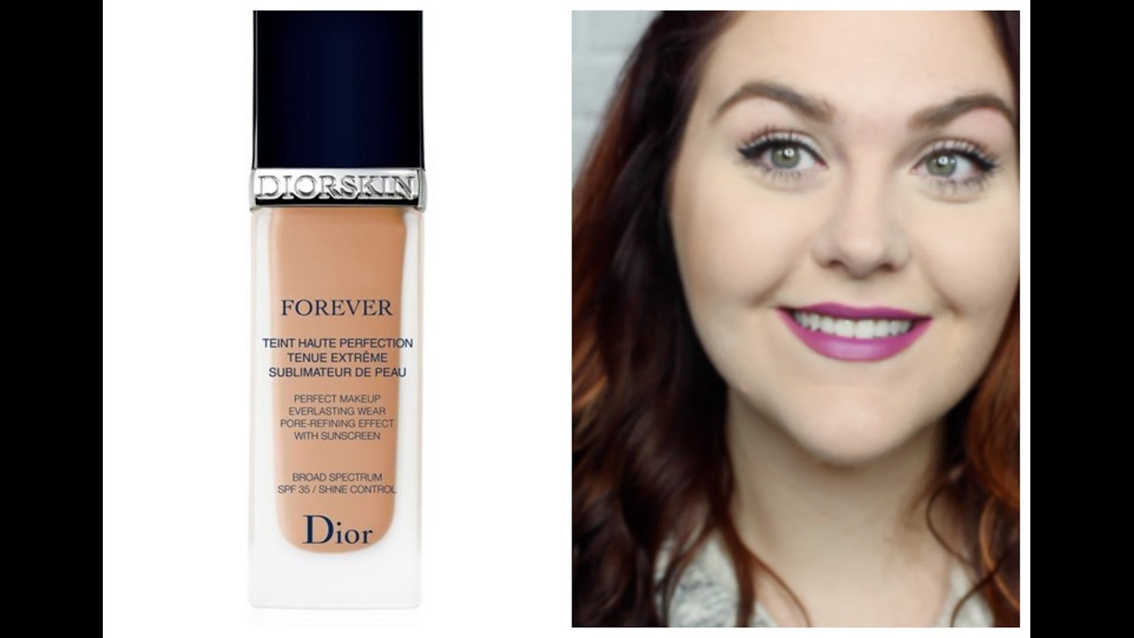 Dior Diorskin Forever Perfect Foundation 1st Impression + Review ...