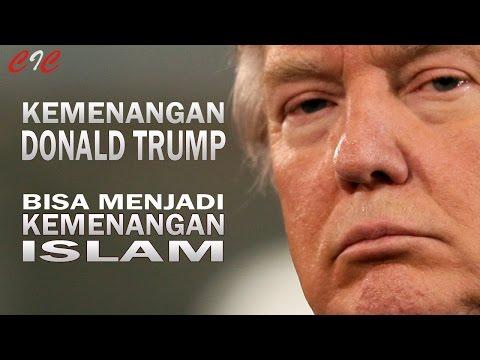 """""""ZAKIR NAIK"""" Kemenangan DONALD TRUMP Bisa Menjadi Kemenangan ISLAM"""