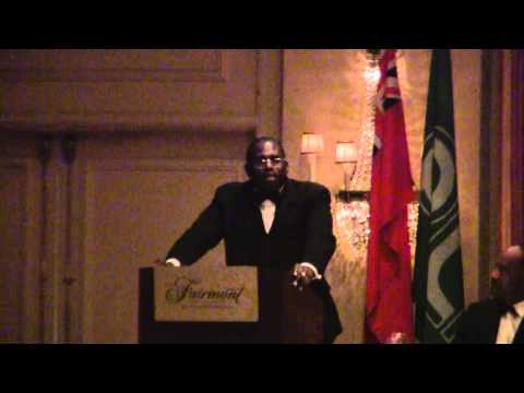 UK Labour MP David Lammy PLP 44th Annual Conference Banquet Bermuda October 29 2011