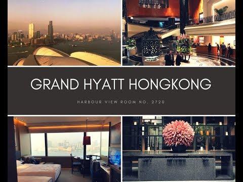 Grand Hyatt Hong Kong - Harbour View Room 2720 & HK Shopping