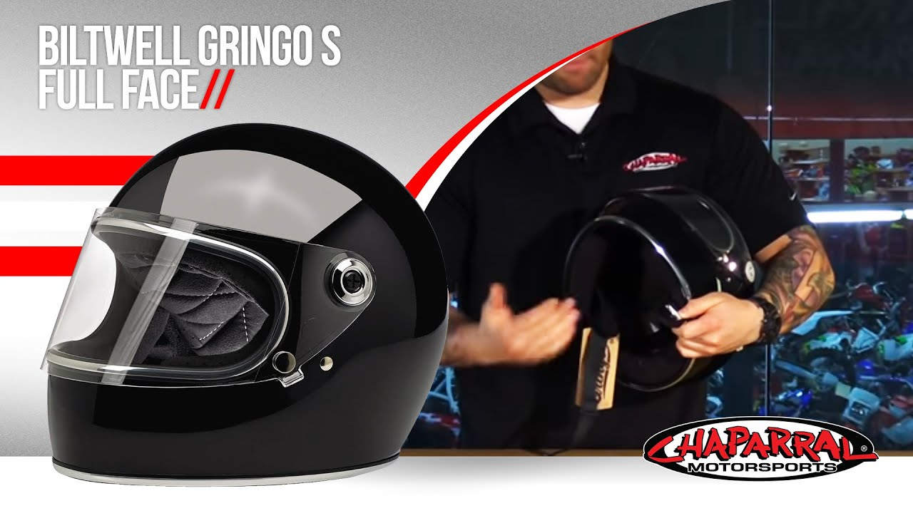Biltwell Gringo S Full Face Motorcycle Helmet Review Youtube