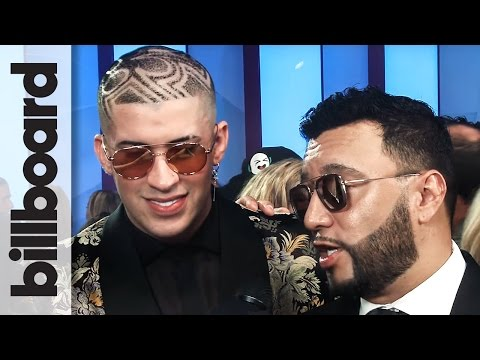 Bad Bunny Talks About Working with J Balvin | Billboard Latin Music ...