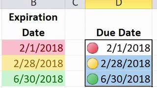 Excel Essentials -- Level UP! -- Conditional Formatting for Due Dates and Expiration Dates