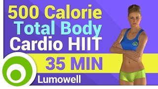 Esercizi HIIT per Bruciare 500 Calorie - Allenamento Total Body senza Attrezzi