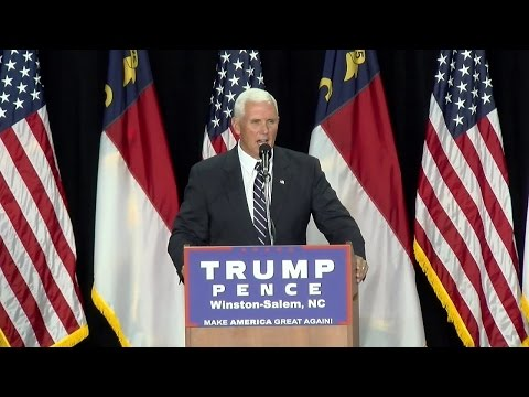Full Speech: Governor Mike Pence in Colorado Springs, CO 9/22/16