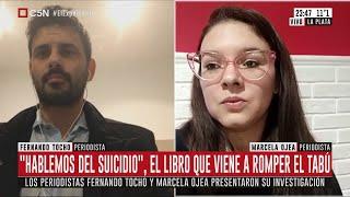 """Marcela Ojea y Fernando Tocho presentan el libro """"Hablemos del suicidio"""""""