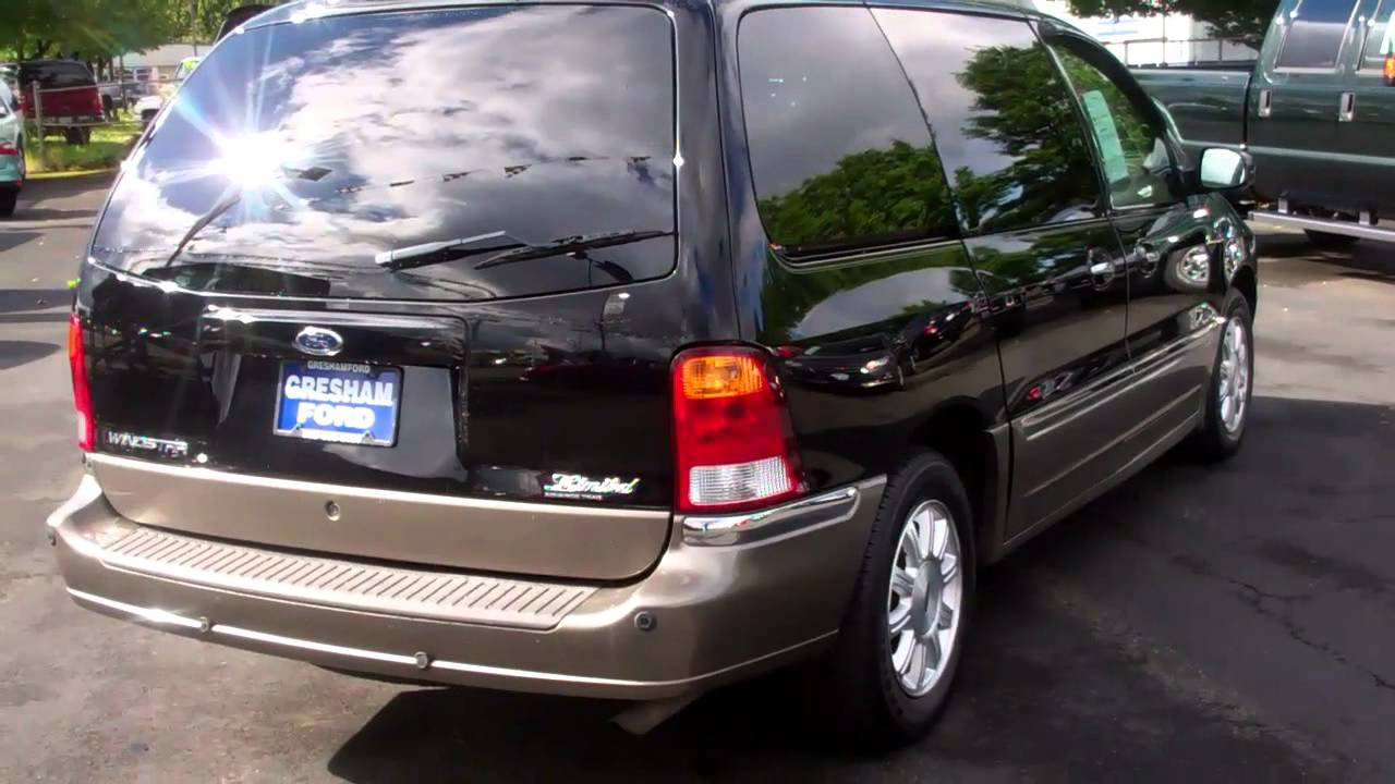 2003 Windstar Limited With The 3 8lt V6 At Gresham Ford