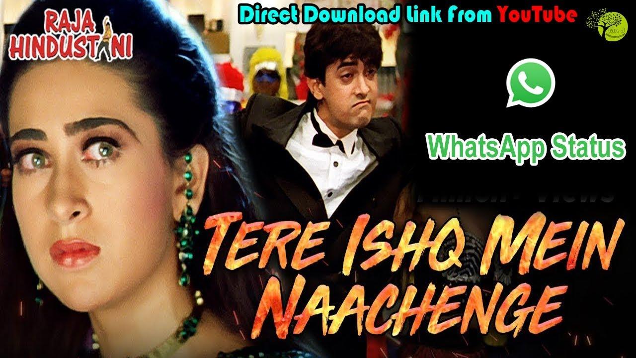 Tere Ishq Mein Nachenge   WhatsApp Status With Lyrics