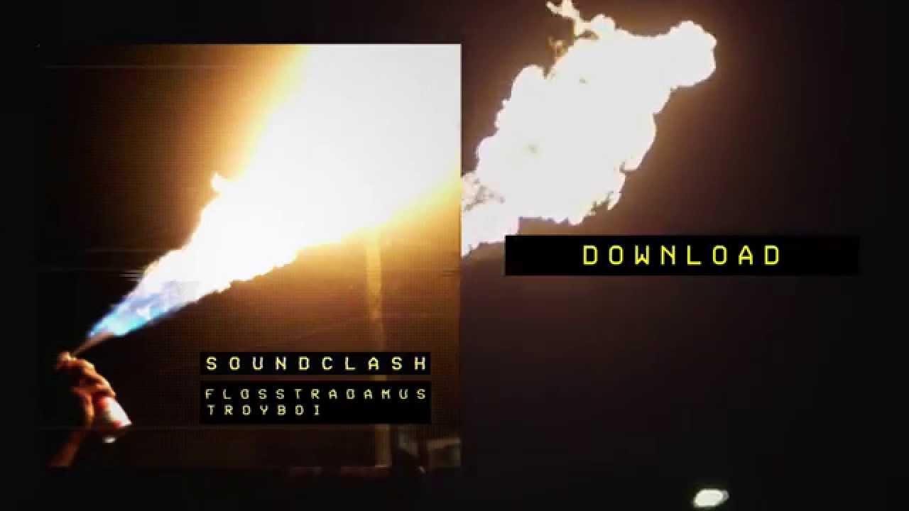 Скачать flosstradamus & troyboi soundclash (original mix)/ trap.