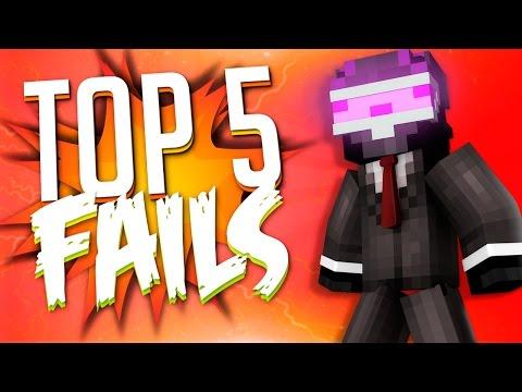 TOP 5 FAILS EN MINECRAFT CON ENFADO | SEMANA 7