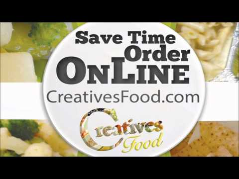 Creative Food: Video Slide Presentation