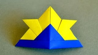 Origami Samurai Hat Instructions: Www.origami-fun.com