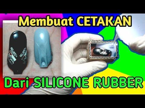 Tutorial Membuat Cetakan dari Silicone Rubber Metode A