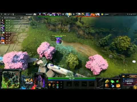 CISR vs Alliance Game 1 - WCA EU Open Qualifier - @DotaCapit