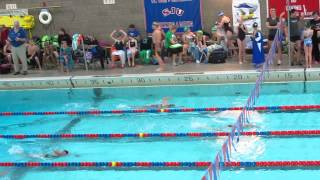 Callie 100Free - 5/4/13 - 4th place overall!!! (top lane)