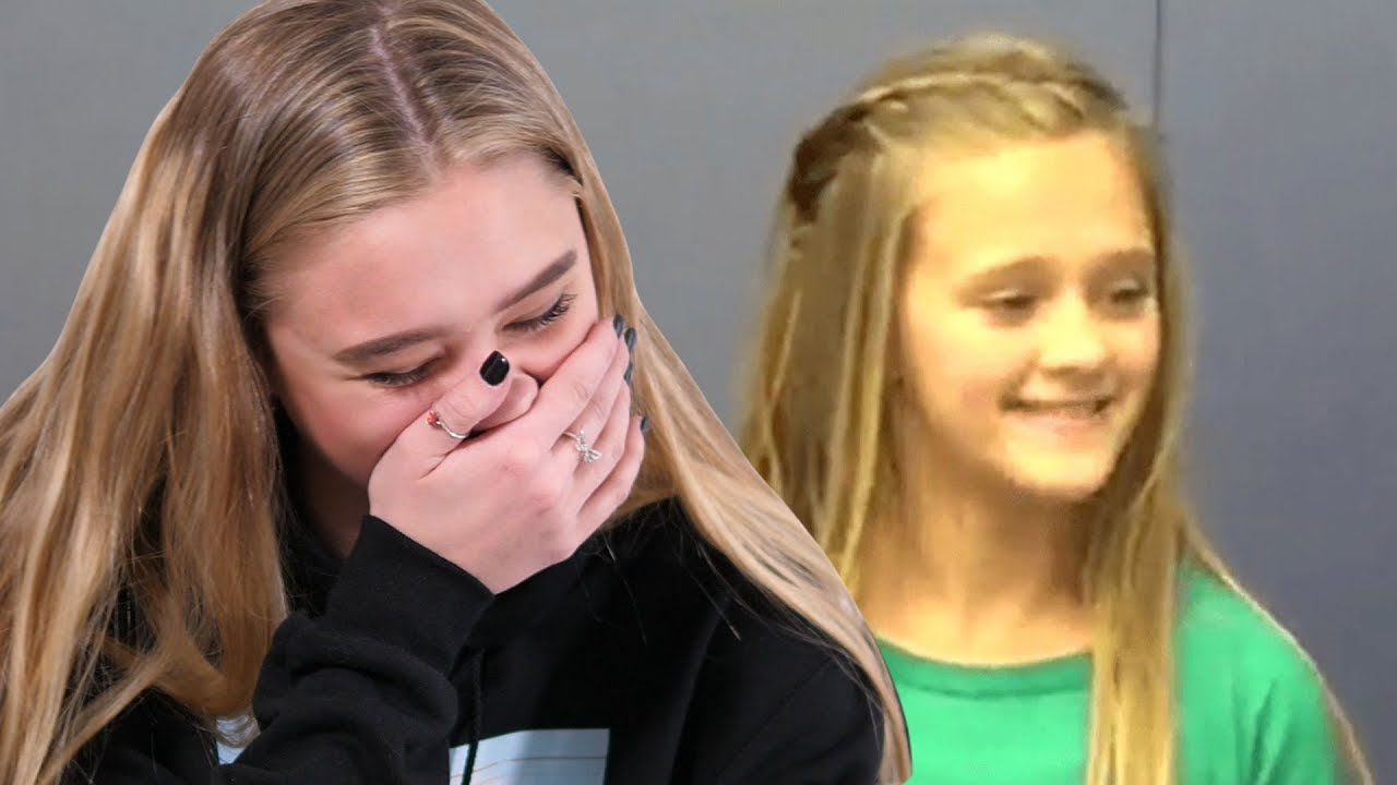Download Reacting To My First Audition Tapes // Lizzy Greene