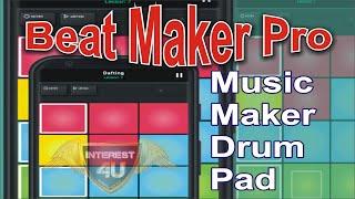 Beat Maker Pro  Music Maker Drum Pad Best App screenshot 1