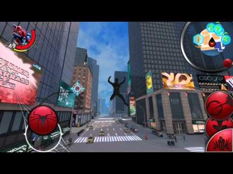 Новый человек паук(чёрный костюм).android