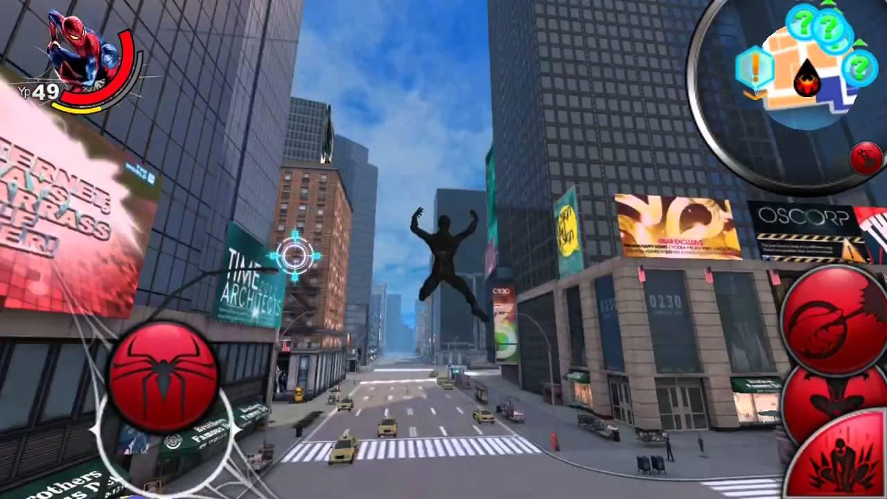 Новый Человек Паук игра на Android - YouTube