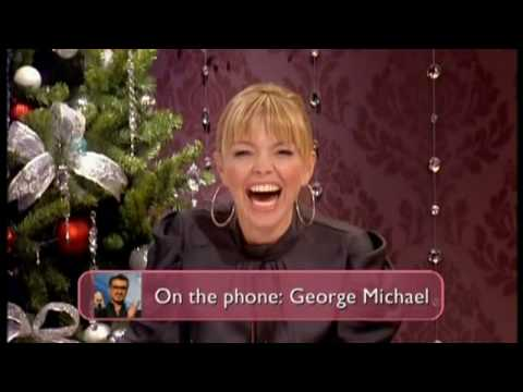 George Michael on the phone to Loose Women 18th December 2009