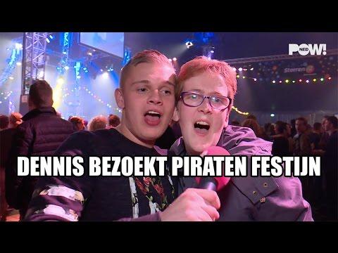 Dennis bezoekt Mega Piraten Festijn
