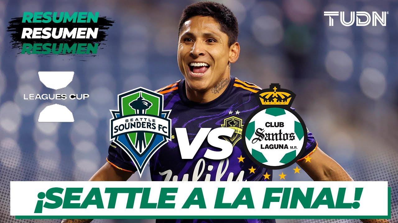 Download Resumen y goles   Seattle Sounders vs Santos   Leagues Cup 2021 Semifinal   TUDN