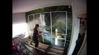 Ikea Algot System And Kirena Sliding Door Installation Timelapse