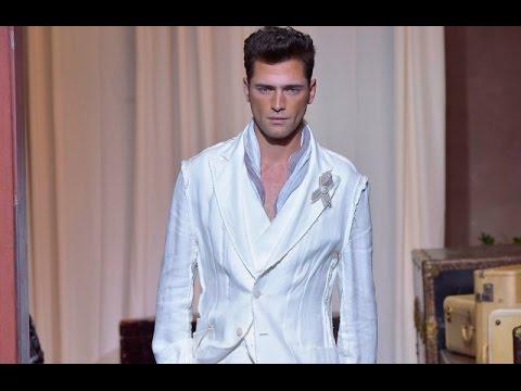 "Sean O'Pry: ""Joseph Abboud"" Spring-Summer 2017 (New York Fashion Week Men's) HD"