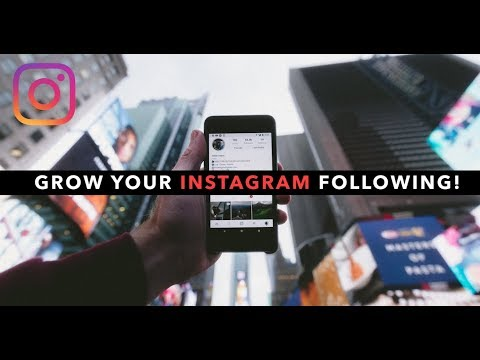 Massively Grow Your INSTAGRAM Following!