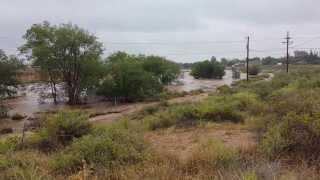 Sept 11 2013 Berrendo Draw flooding
