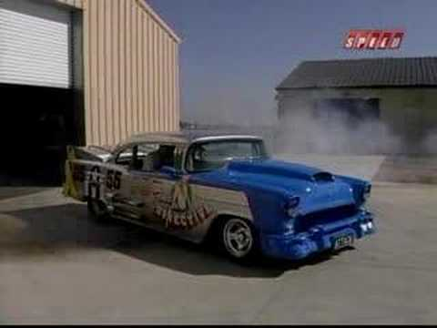 Merlin V12 Powered 55 Chevy