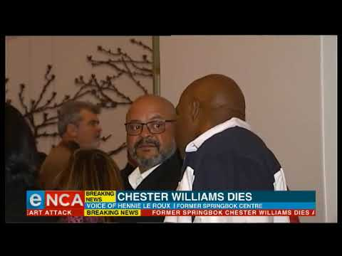 Springbok icon Chester Williams dies | eNCA