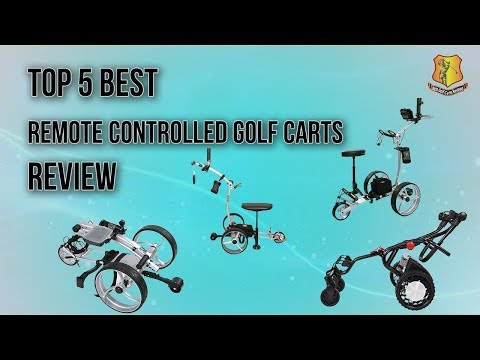 The Best Remote Control Golf Carts for Your Money | Best
