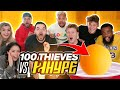 2HYPE VS 100 THIEVES HOUSE PARTY OLYMPICS!