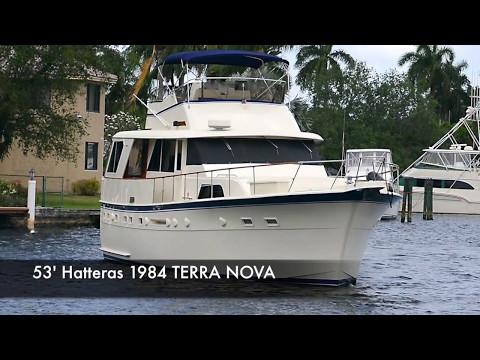 53' Hatteras Motor Yacht for Sale - Bradford Marine Yacht Sales