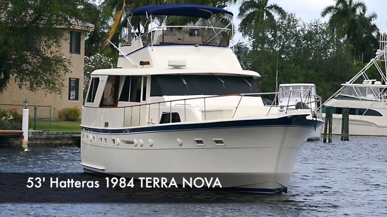 53 39 Hatteras Motor Yacht For Sale Bradford Marine Yacht