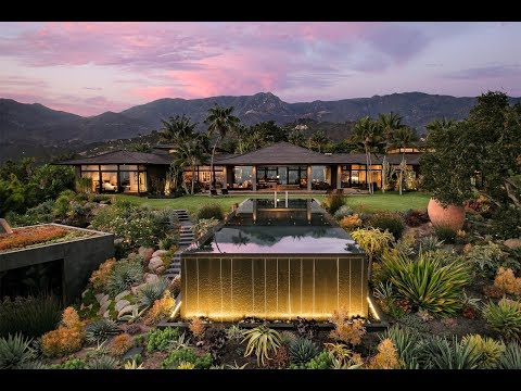 Contemporary Balinese-Style Estate in Montecito, California - Sotheby's International Realty