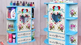 New ! Best Out Of Waste 2019 !!! DIY Room Organizer | Multi Storage MINI Cabinet