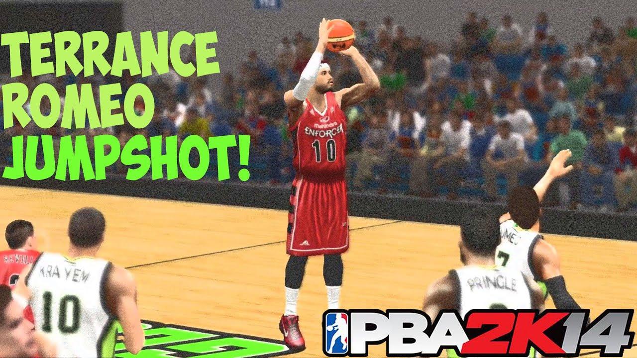 PBA 2K14 MyCareer Season 3 - Terrance Romeo Jump shot - YouTube