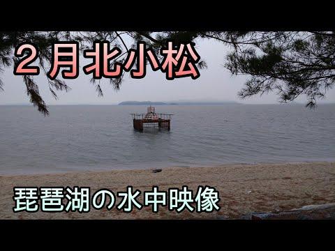 #北小松 #取水塔 #琵琶湖 #水中映像 2月北小松取水等