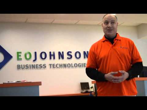 On the Job with Aaron: Repairing copiers with EO Johnson Business Technologies