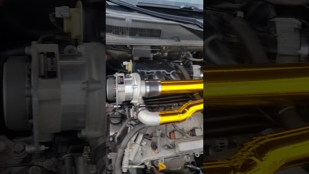 2010 Toyota Rav4 V6 (2GR-FE engine) with modified HKS Supercharger Kit