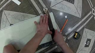 видео обшивка дверей панелями МДФ
