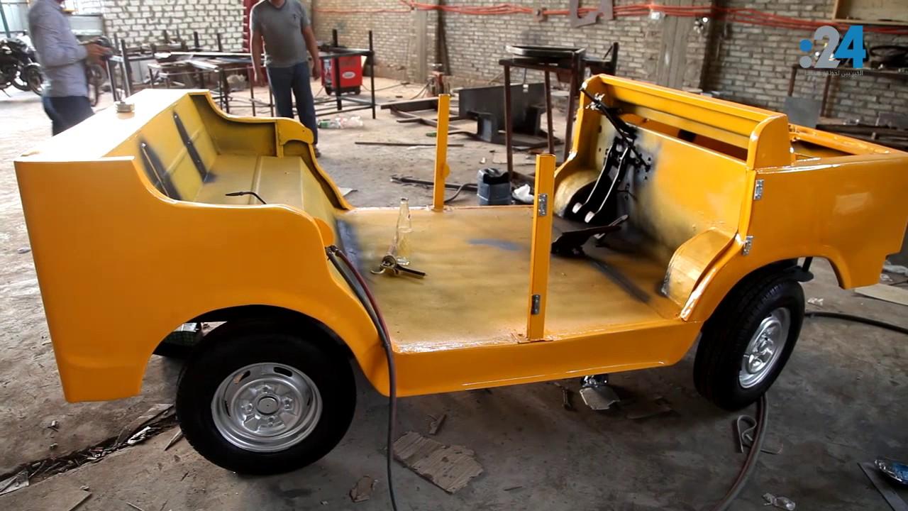 مصري يبتكر أول سيارة بديلة ل التوك توك Youtube