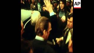 SYND 18-2-74 PRIME MINISTER EDWARD HEATH CAMPAINING IN SCOTLAND