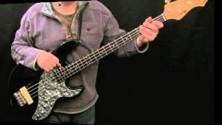 How To Play Bass To Mustang Sally (The Commitments)