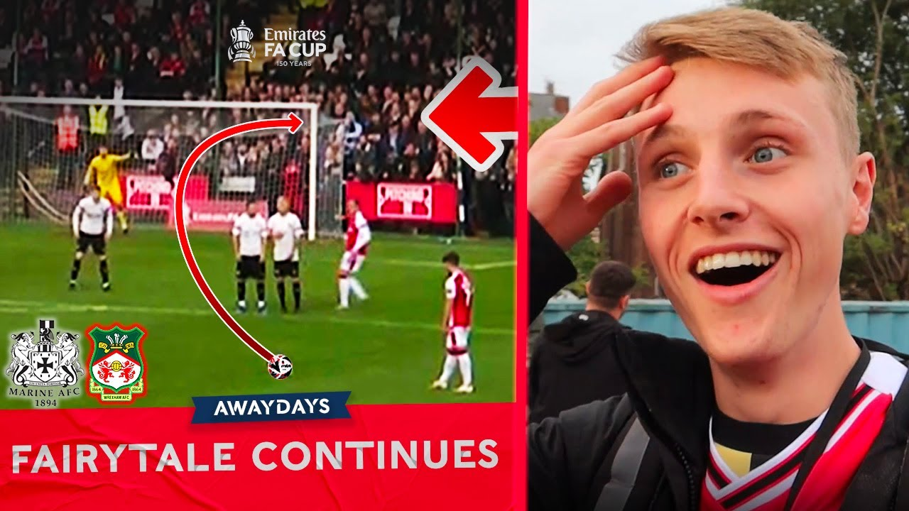 Download Wrexham Put Marine's Fairytale On Hold With a Late Goal! Away Days Episode 4 | Emirates FA Cup 2021