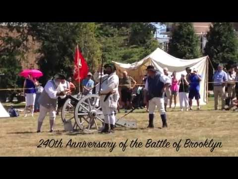 240th Anniversary of The Battle of Brooklyn at Green-Wood Cemetery Vlog