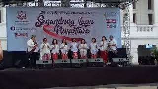 Neng Geulis - Adisvara Choir  | Babak Final | Senandung Lagu Nusantara | RCI - 1 April 2018