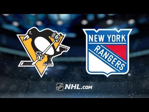 Pittsburgh Penguins vs New York Rangers NHL Game Recap